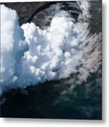 Lava, Meet Ocean 2 Metal Print