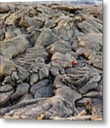 Lava Peeking At Us Metal Print