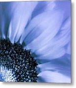 Lavender Blue Silk Metal Print