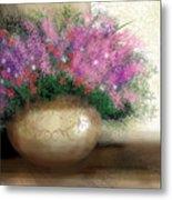 Lavender Bouquet Metal Print