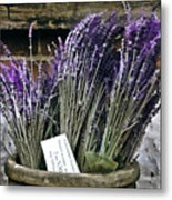 Lavender For Sale Metal Print