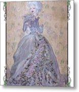 Lavender Lady Metal Print