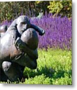 Lavender Lovers Metal Print