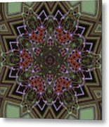 Lavender Mandala Metal Print