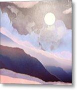 Lavender Night Metal Print