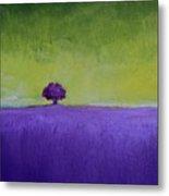 Lavender Valley Metal Print
