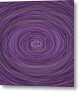 Lavender Vortex Metal Print