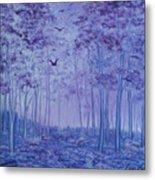 Lavender Woods Metal Print