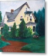Lavern's Bed And Breakfast Metal Print