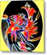 Lavish Lilies 2 Metal Print