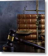 Law And Justice II Metal Print