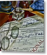Lawyer - The Tax Attorney Metal Print