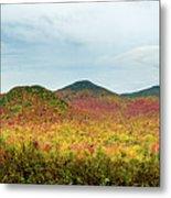 Layered Adirondack Colors Metal Print
