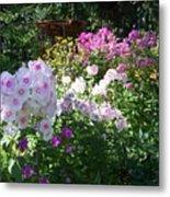 Layered Florals Metal Print