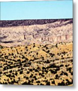 Layered Land Metal Print