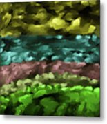 Layers #g8 Metal Print