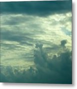 Layers Of Clouds Metal Print