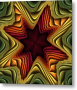 Layers Of Color Metal Print