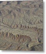 Layers Of Erosion Metal Print