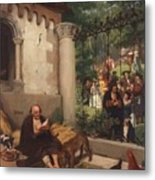 Lazarus And The Rich Man 1865 Metal Print