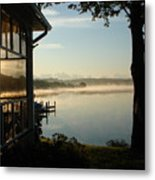 Lazy Morning On The Bay Metal Print