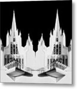 Lds - Twin Towers 1 Metal Print
