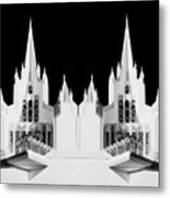Lds - Twin Towers 2 Metal Print