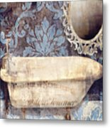 Le Bain Paris Blue Metal Print