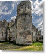 Le Bois Thibault Chateau Metal Print