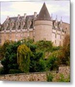 Le Chateau De Rochechouart Metal Print
