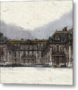 Le Chateau De Versailles Metal Print