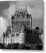 Le Chateau Frontenac - Quebec City Metal Print