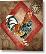 Le Coq - Greet The Day Metal Print