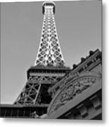 Le Eiffel Metal Print