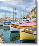 Le Fortune At Nice Harbor, France Metal Print