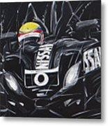 Le Mans Nissan Delta Metal Print