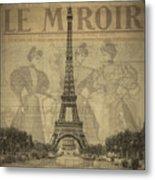 Le Miroir Metal Print