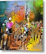 Le Tour De France 04 Metal Print