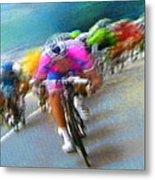 Le Tour De France 09 Metal Print