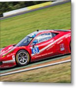 Lead Ferrari Metal Print
