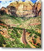 Lead Me To Zion Metal Print