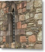 Leaded Nunnery Window Metal Print