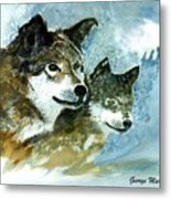 Leader Of The Pack Metal Print