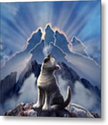 Leader Of The Pack Metal Print by Jerry LoFaro