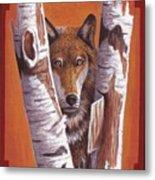 Leader Wolf Metal Print by Billie Bowles