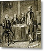 Leaders Of The First Continental Congress Metal Print