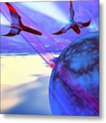 Leading Edge Metal Print by Corey Ford