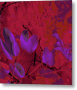 Leaf And Flower 9 Metal Print
