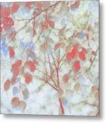 Leaf Me 4 Metal Print