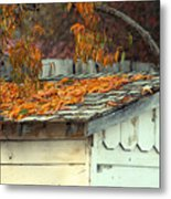 Leaf Shed Metal Print by Holly Ethan